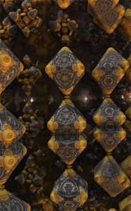 3d fractal gallery image by Anna Gabali